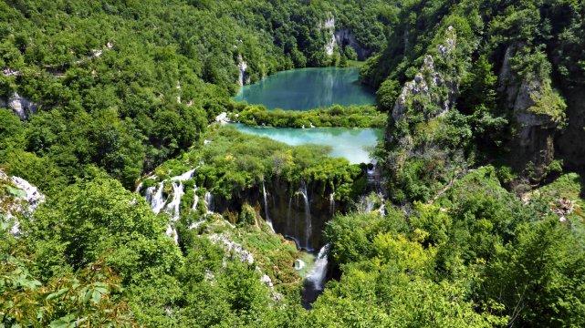 Kroatien Plitvicer Seen Wandern