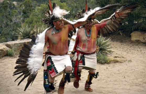 Hopi Indianer Mesa Verde Tanz