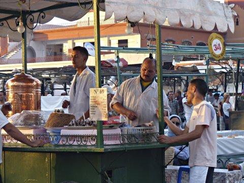 Marrakech Platz Essensstaende_2