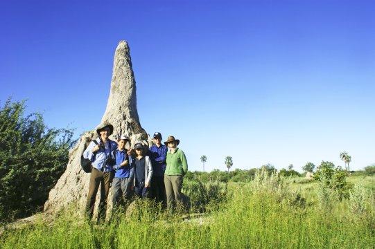 Okavango Delta Termitenhuegel_2