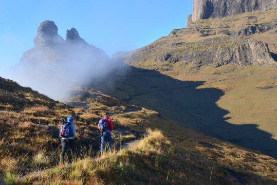 Überquerung der Drakensberge Trekking