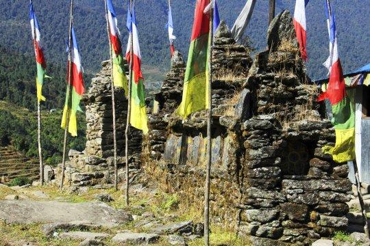 Manimauer in Tashigaon