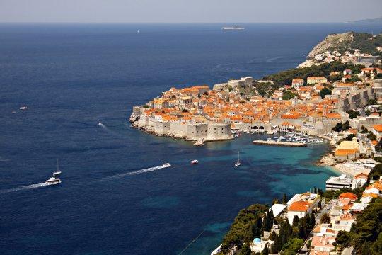 Blick auf die Altstadt von Dubrovnik_2