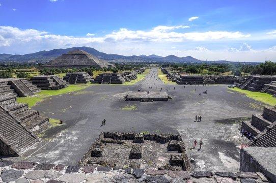 Theotihuacan Ruinen Mexiko