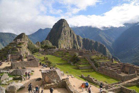 Machu Picchu und Huayna Picchu 3