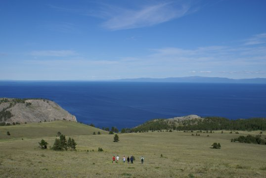 Tageran-Steppe am Baikalsee