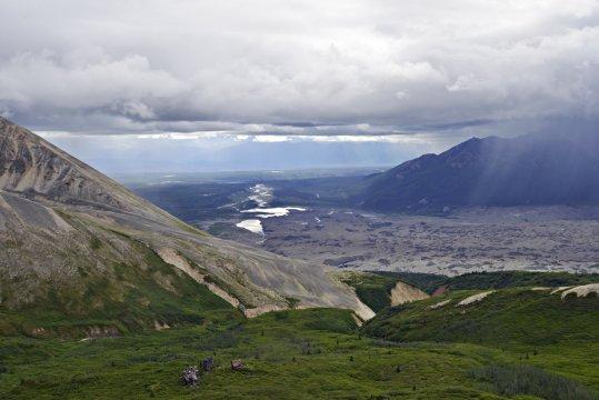 Blick auf Wrangell St Elias Nationalpark_2