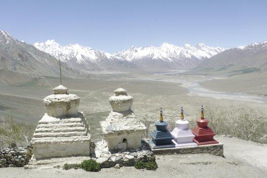 Stupa in Padum