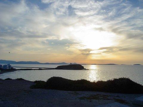 Naxos Sonnenuntergang