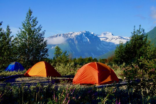 Wildniscamp Alaska