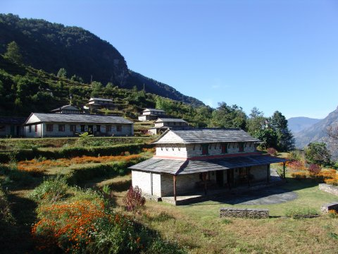 Gurung Lodge in Majgaon