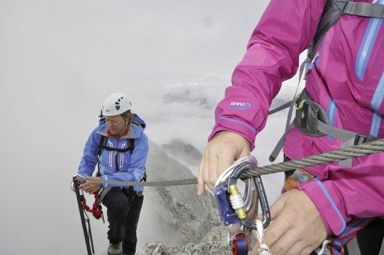 Klettersteigset Unterschiedlich Lang : Basic bergsteigen lernen in fels und eis kurse