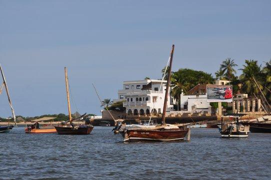Kenia-Boote-Lamu
