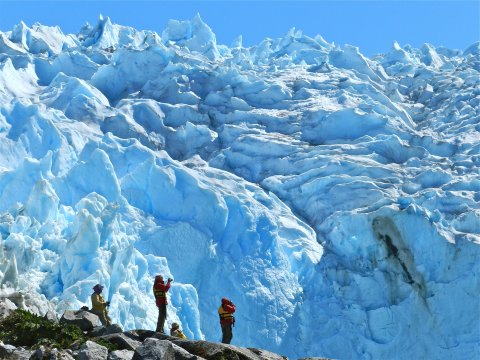 Leones Gletscher