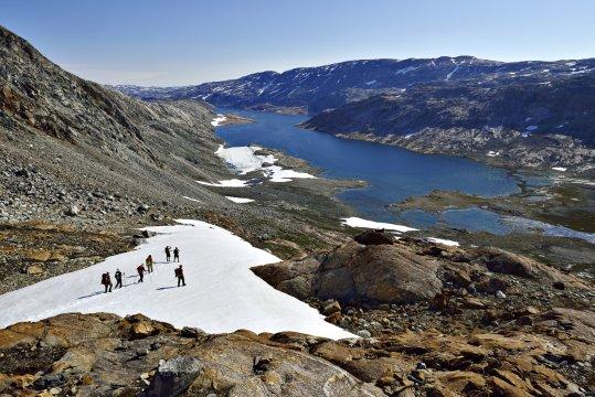 Trekking am Hundefjord