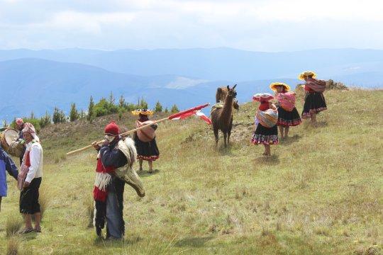 Mit der Gemeinde Richtung Cuyuni_2