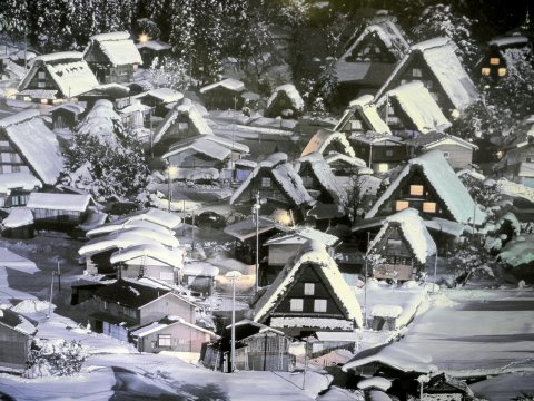 Shirakawago Winter
