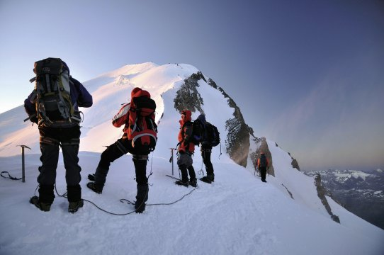 Gipfel_ Montblanc 2