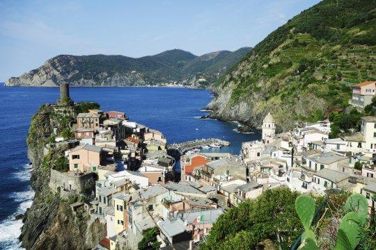 Cinque Terre Blick auf Vernazza_2