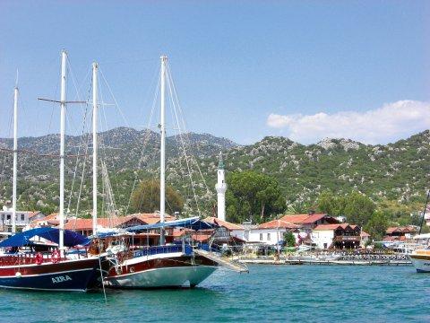 Hafen von Kas
