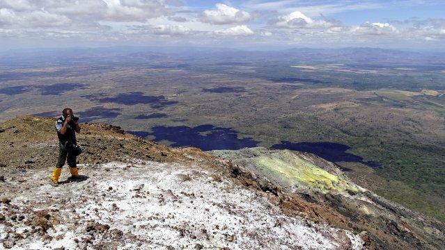 Momotombo Krater Panorama