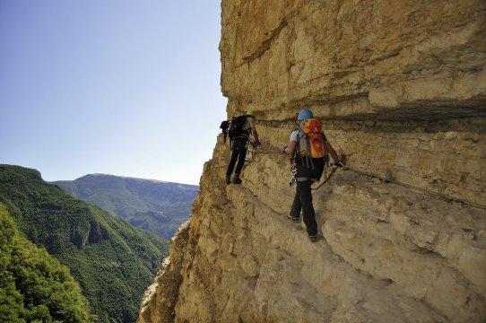 Klettersteig Italien : Italien top klettersteige am gardasee