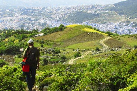 Bergfuehrer Wanderung bei Chefchaouen