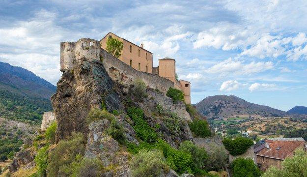 Altstadt von Corte, Korsika