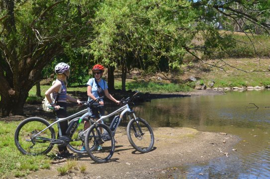 Costa-Rica-Mit-E-Bikes-am-Fluss