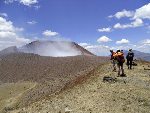 Vulkan Telica Trekking Kraterrand_2