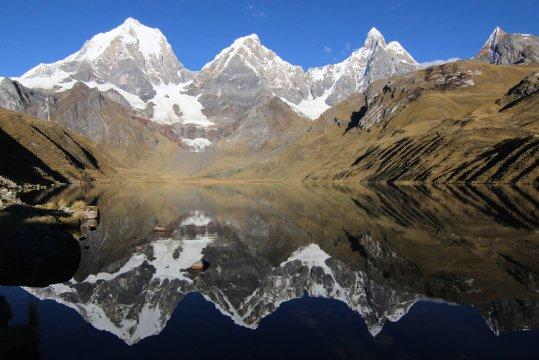 Peru Cordillera Huayhuash Hochlandsee