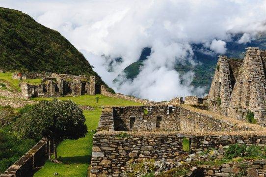 Peru_Choquequirao Ruinen