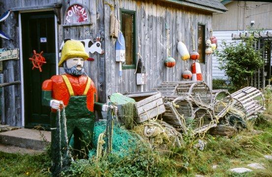 Kanada Nova Scotia Cape Breton Fischer