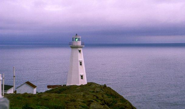 Kanada Neufundland Leuchtturm Cape Spear