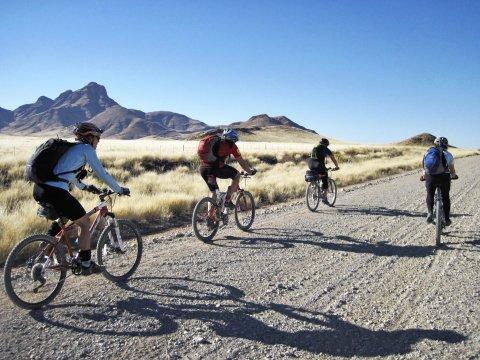Per Mountainbike durch das südliche Afrika