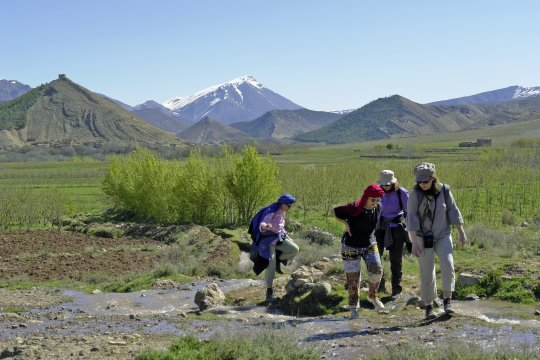 Wandern Trekking Hoher Atlas Ait Bouguemez