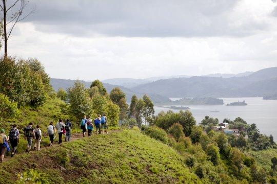 Wandern Lake Mutanda_2