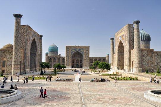 Der Registan - Herz des antiken Samarkands