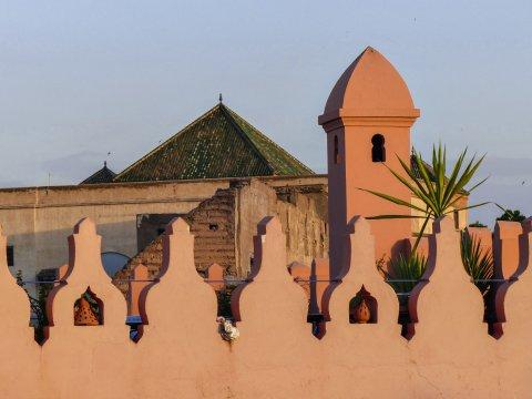 Marrakech im Abendlicht