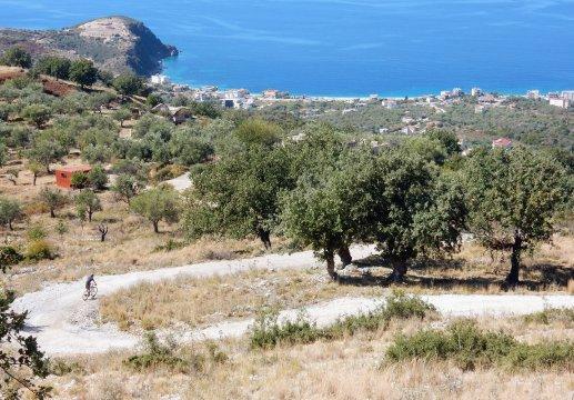 Albanien-MTB-Das-Meer-in-Sicht