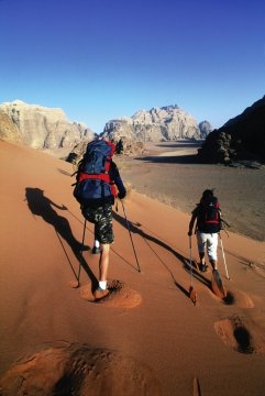 Wanderer Wadi Rum_2