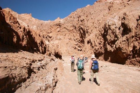 Wanderung Cordillera del Sal San Pedro de Atacama ChileWanderung Cordillera del Sal Chile