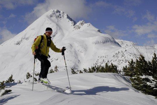 Gruensteinumfahrung Skitour 2