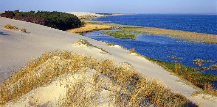 Slowinski Nationalpark Ostsee Duenen