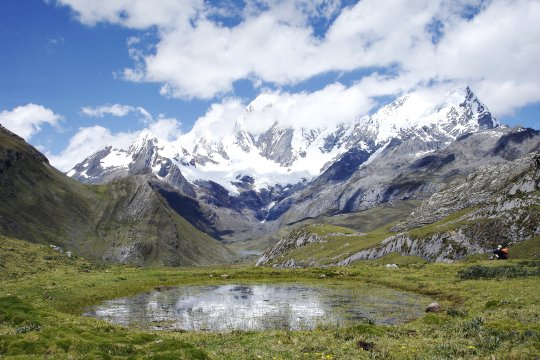 Kleiner See auf CordilleraBlanca