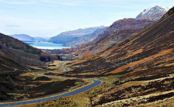 Schottland Wandern Highlands