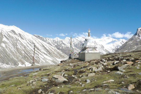 Pass im Zanskar auf Fahrt nach Padum