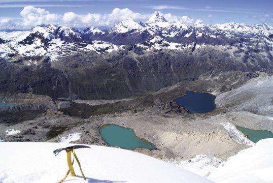Gipfel Ishinca 2