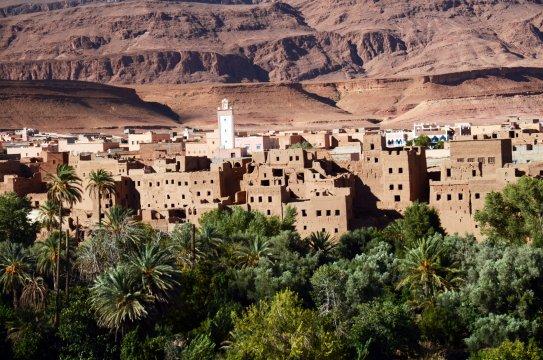 Marokko - Oase Skoura_2