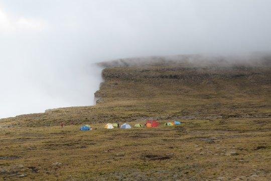 Südafrika-Plateaucamp-Drakensberge-Zelt